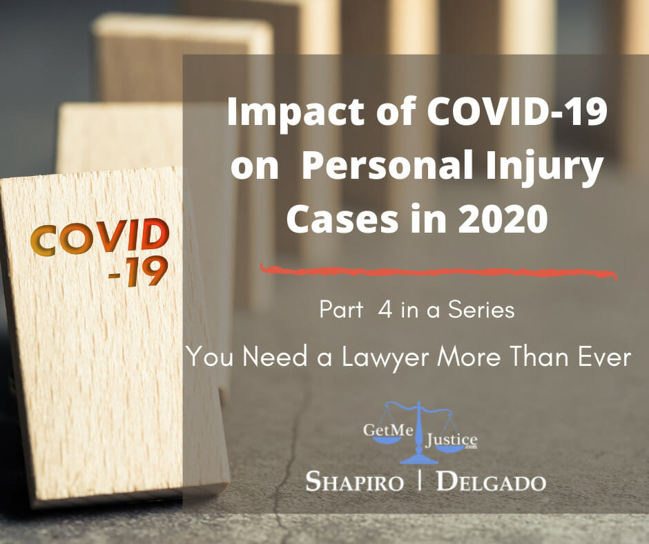Impact of COVID 19 on Personal Injury Cases in 2020 Part 4